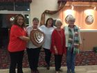 Comberbach WI Winning Group Darts Team