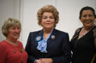 """Margaret Thatcher"" aka Lesley Smith, Bev Langham and Gill Targett"